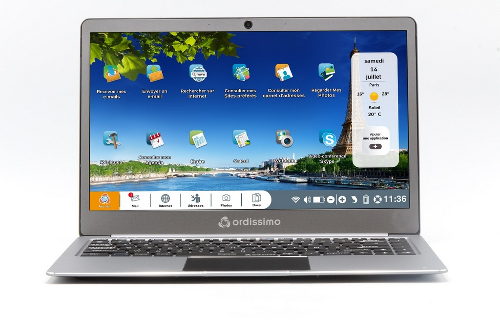 Agathe 3, le nouvel ordinateur portable de Ordissimo