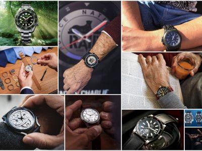 Votez pour la montre «tendance» masculine de l'année