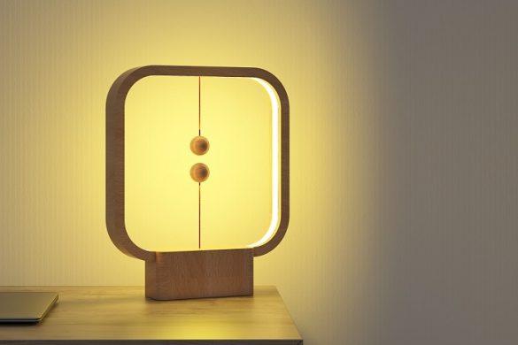 La lampe Design en lévitation