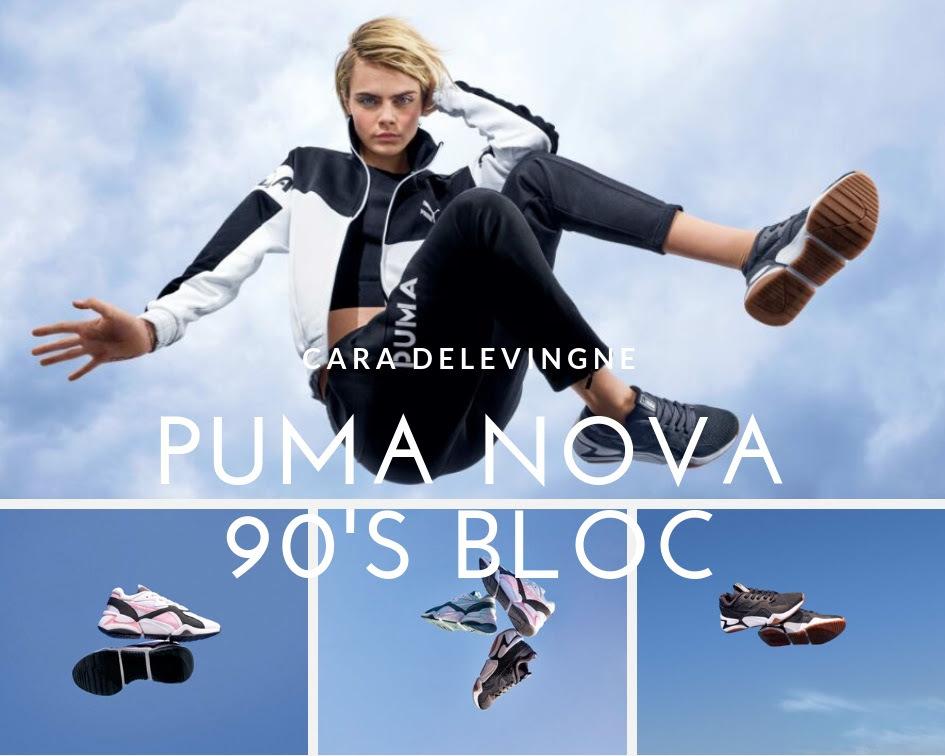 puma nova 90s bloc femme