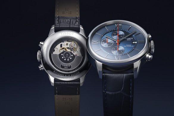 Tissot chemin des Tourelles automatic chronograph Bucherer BLUE EDITIONS