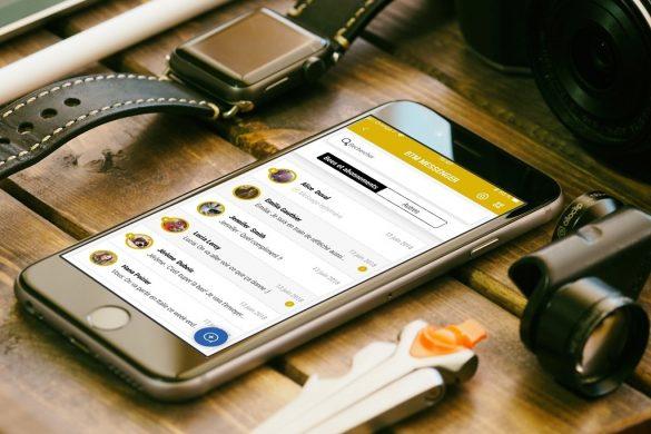 Bee The Move, le réseau social 2.0