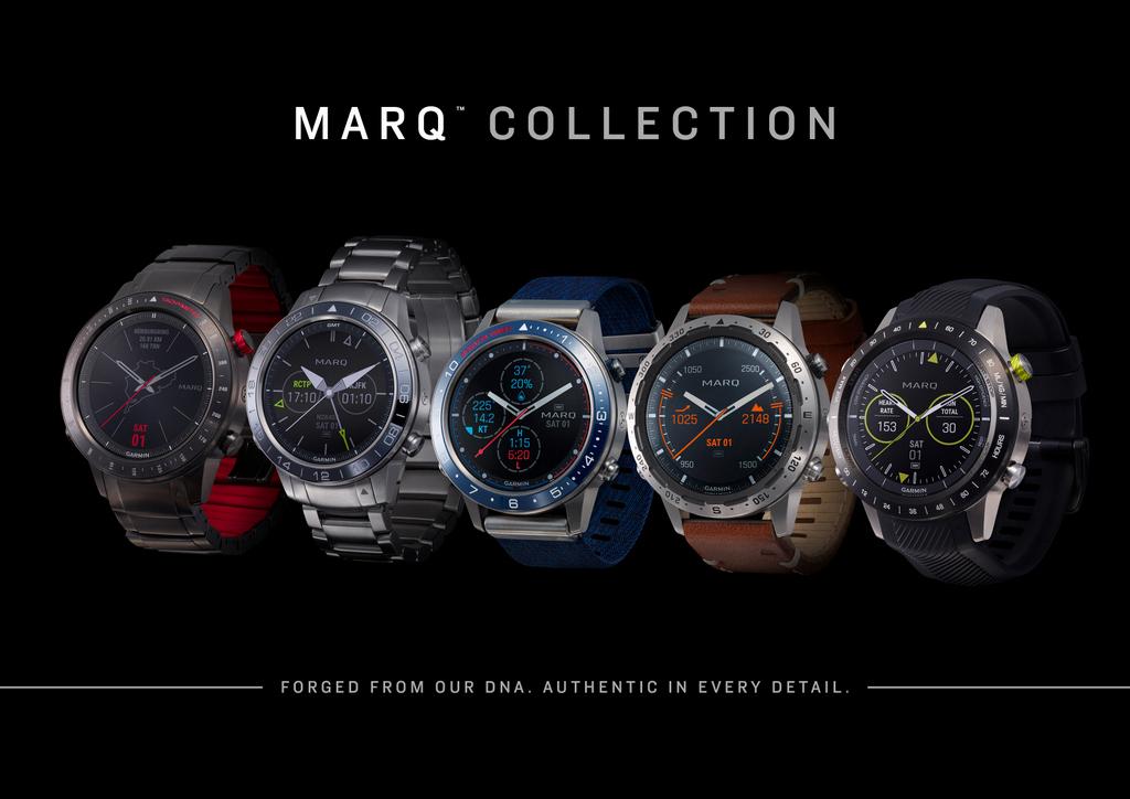 Garmin MARQ, les «tool watch» de luxe nouvelle génération