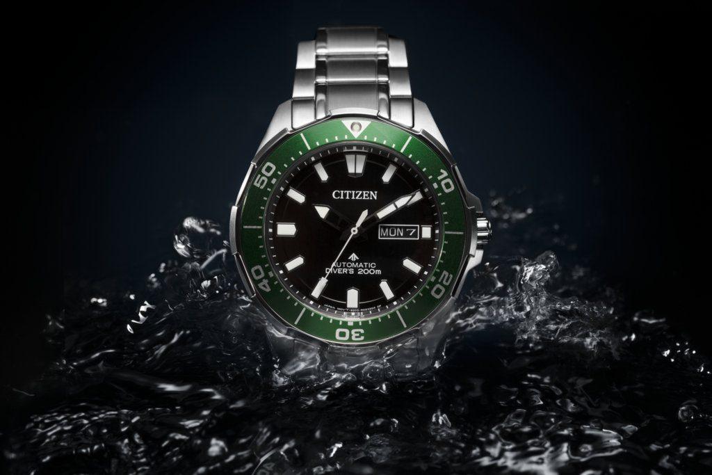 citizen presente sa montre de plongee promaster marine