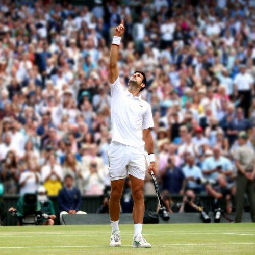 Novak Djokovic remporte Wimbledon pour la cinquième fois
