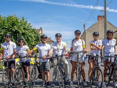 Tissot fait pédaler des célébrités sur le Tour de France