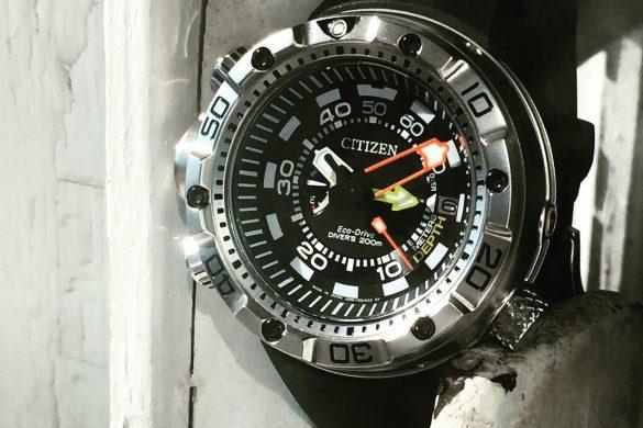 Citizen Promaster Ecodrive Diver's Depth Gauge – Un instrument, avant tout.