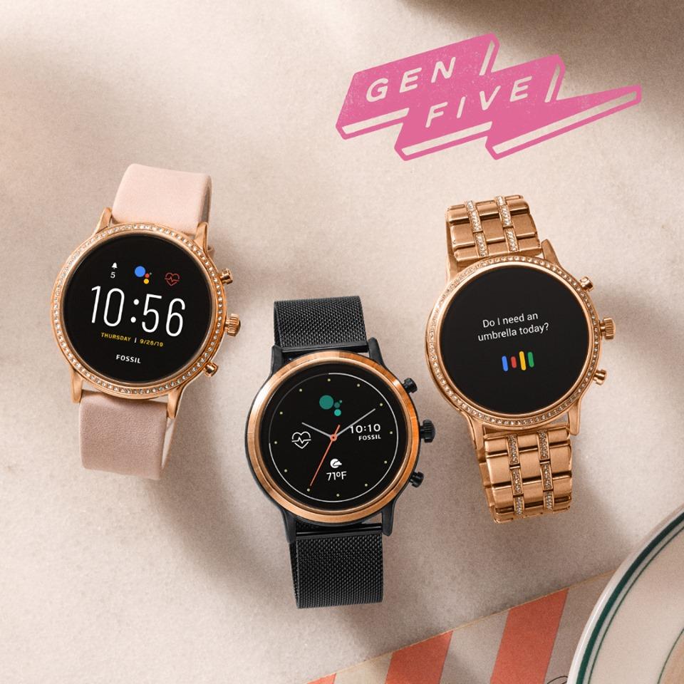 Fossil lance sa 5ème génération de montres connectées