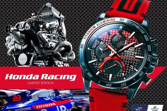 Collaboration CASIO Edifice x Honda Racing