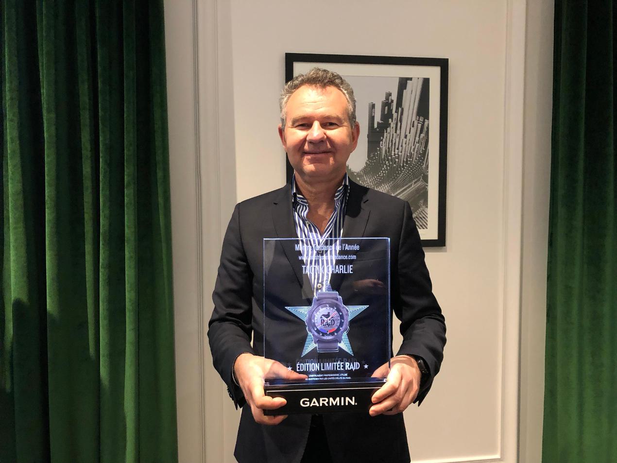 Garmin reçoit le trophée de Montre de l'Année