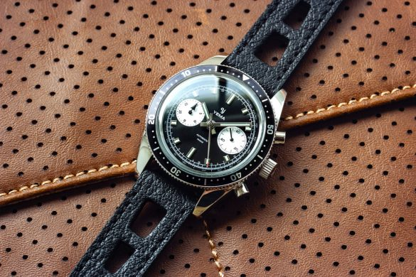 Speedgraf, le nouveau chronographe néo-vintage de Yema
