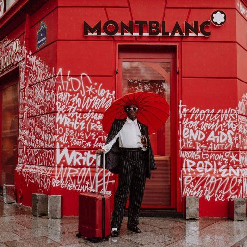 Montblanc s'engage dans la lutte contre le sida.