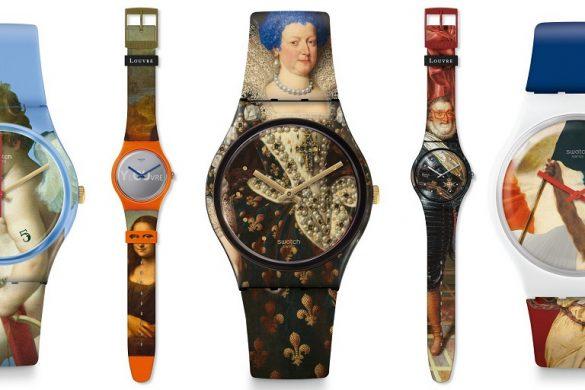 Swatch et le musée du Louvre