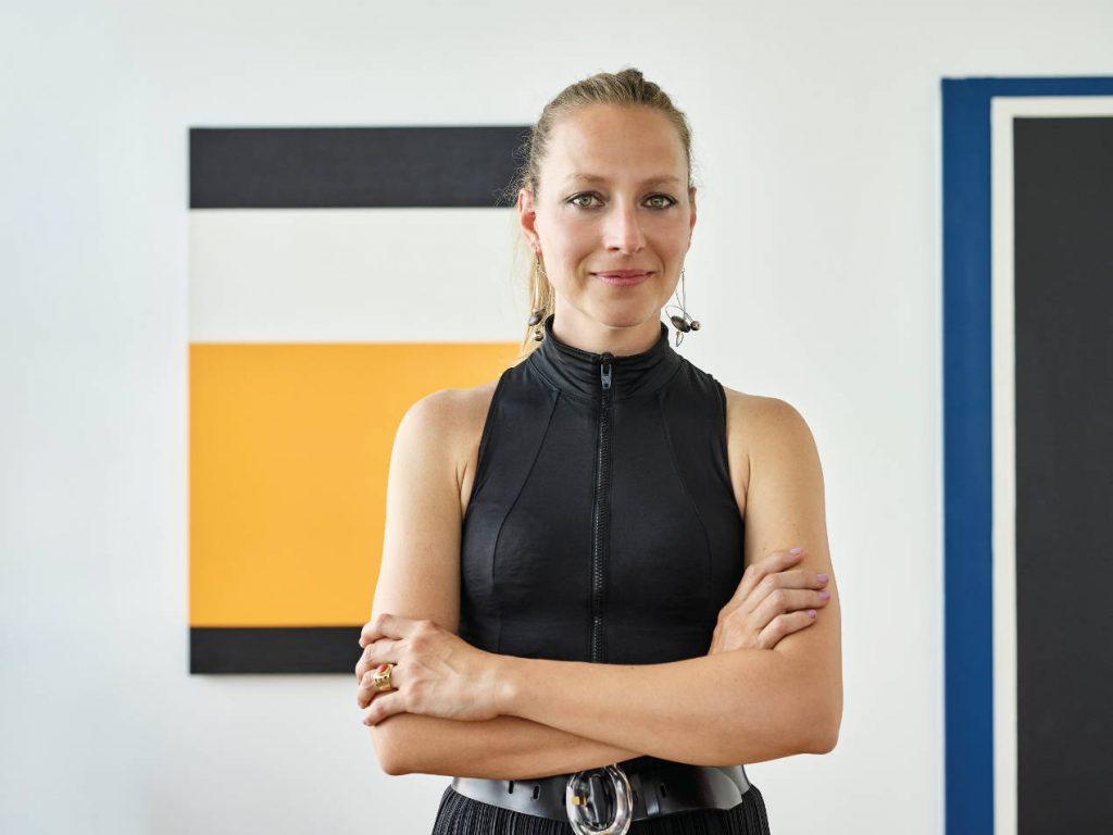 Valentina Milloch, directrice artistique de Lebeau-Courally maroquinerie