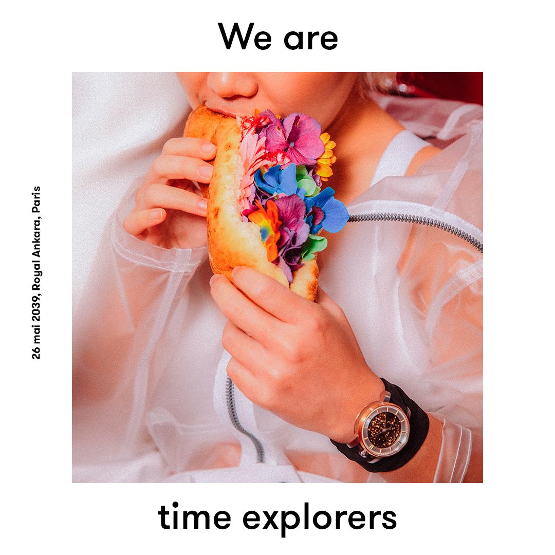 Fob Paris lance la campagne We are Time Explorers