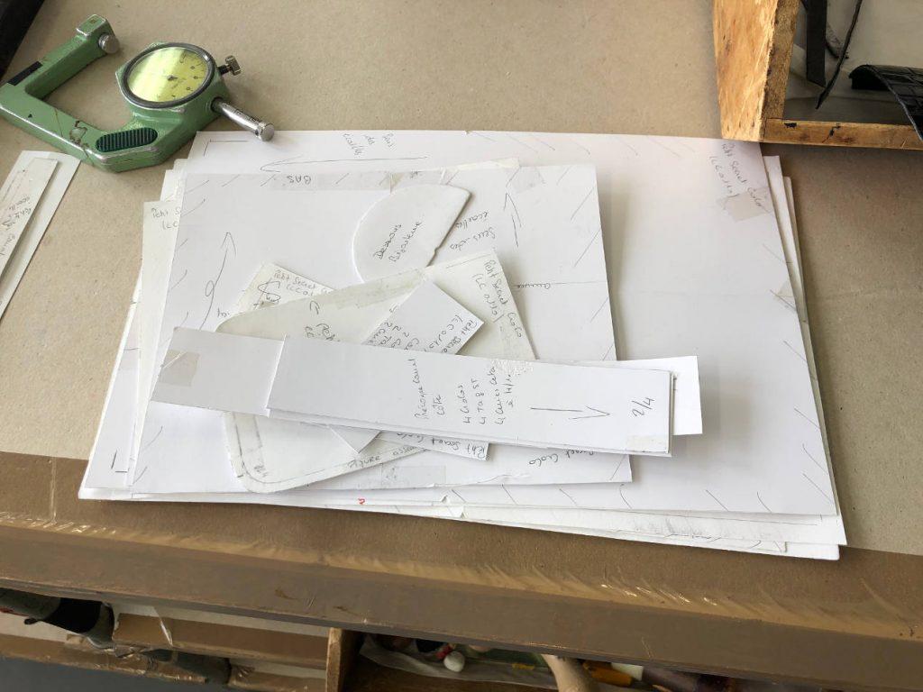 Réalisation d'un modèle de sac à main