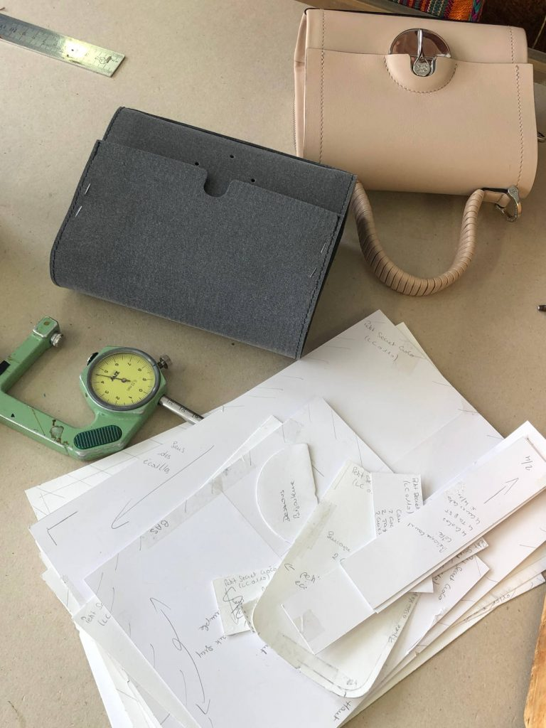 La salpa va servir à visualiser le sac à main en 3D