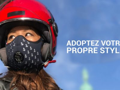R-PUR, le masque anti-pollution