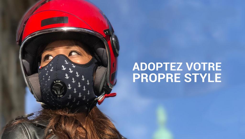 R-PUR, le masque anti-pollution