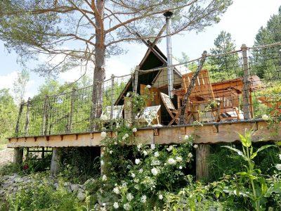 Le Présent Simple, hébergements insolites dans la Drôme