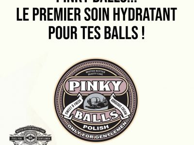 Pinky Balls, le premier soin 100% homme