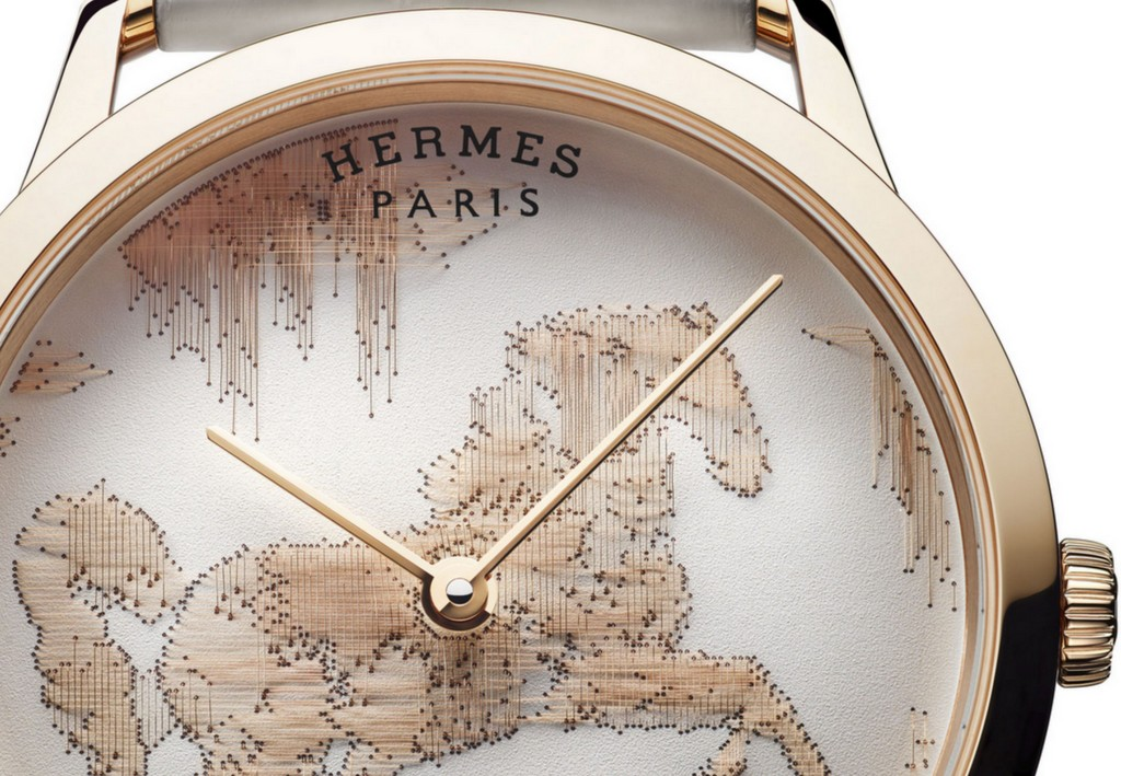 Slim d'Hermès Cheval Ikat