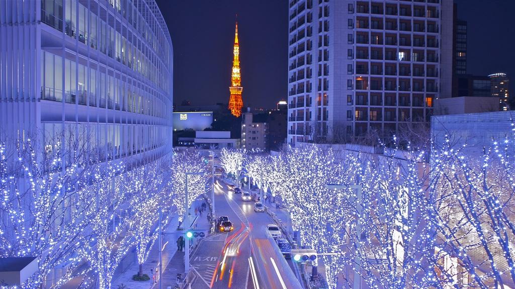En décembre, Tokyo s'illumine !