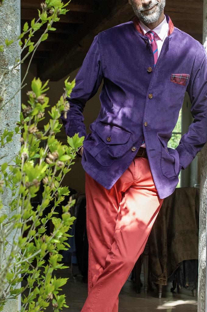 La veste Mountbatten de Berteil