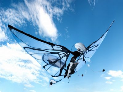 METAFLY, le 1er papillon volant biomimétique de BIONIC BIRD