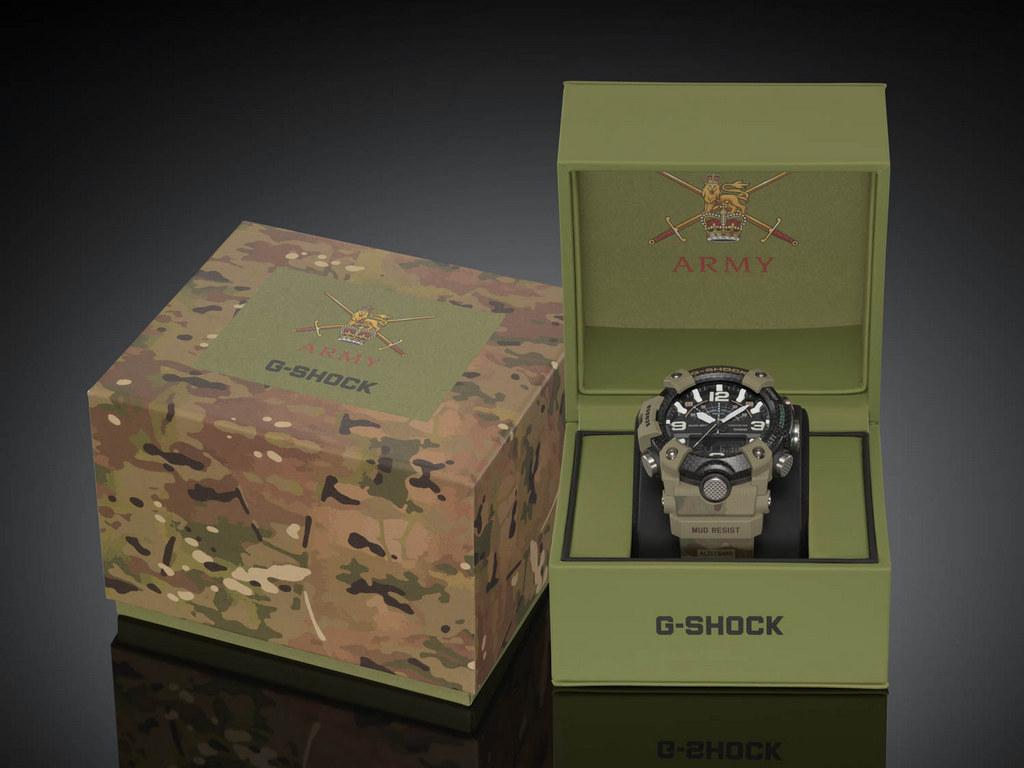 G-SHOCK x British Army