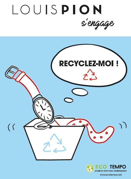 Bilan de l'opération Recycler c'est Gagner menée par Louis Pion