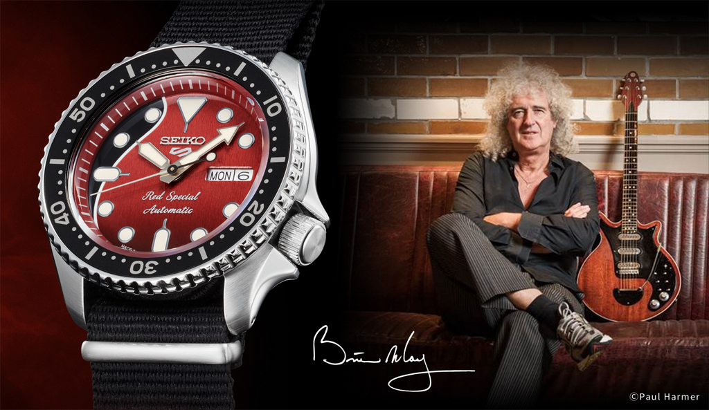 Seiko 5 Sports Brian May Edition Limitée