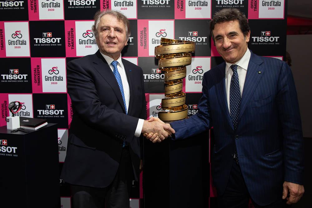 Nouveau partenariat entre Tissot et le Giro d'Italia