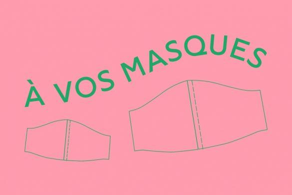 A vos masques, initiative 100% bénévole