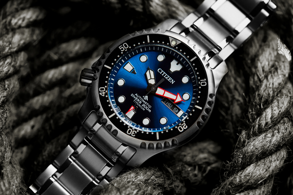 Citizen Promaster Marine Automatique Super Titanium