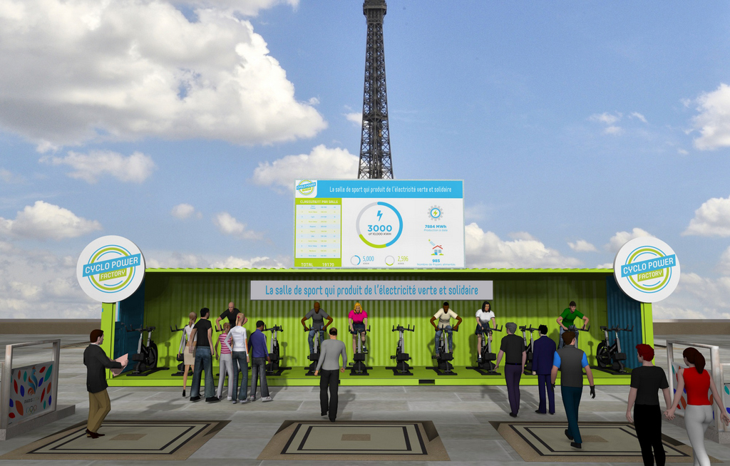 Cyclo Power Factory invente le Fitness Vert