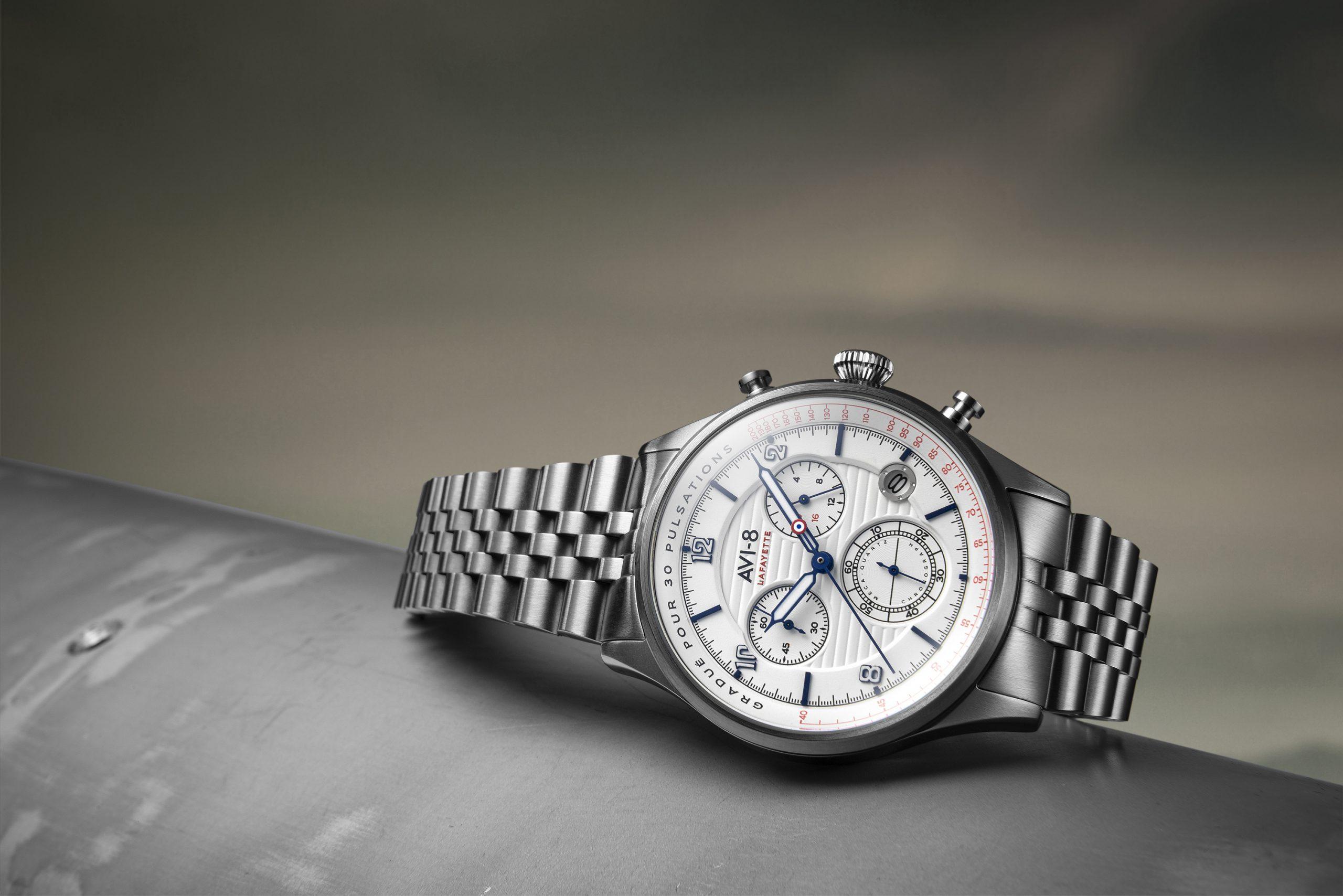 Avi-8 Flyboy Chronograph