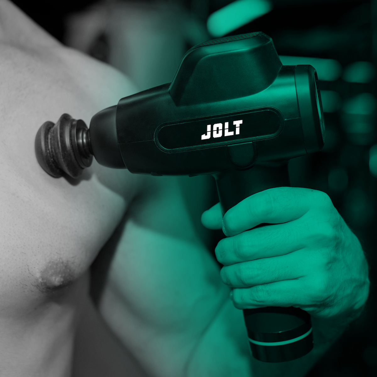 JOLT, le pistolet de massage par vibrations