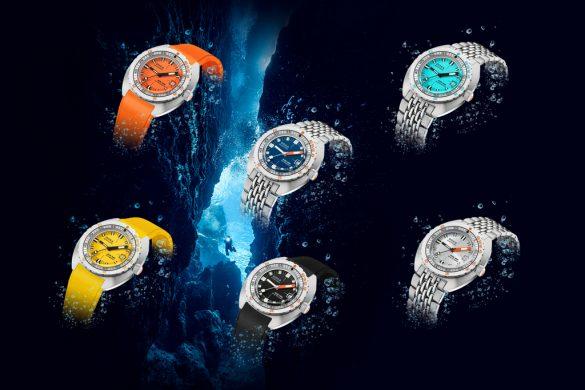 La couleur coule dans l'ADN de DOXA Watches