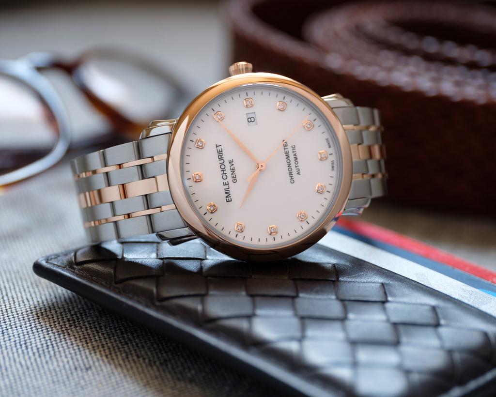 Emile Chouriet Lac Léman Classic Chronometer, l'élégance intemporelle