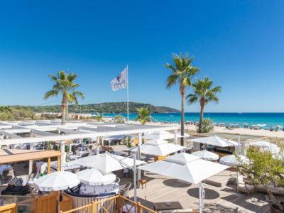 Bagatelle Saint-Tropez ouvre  à l'occasion des Voiles de Saint-Tropez 2020
