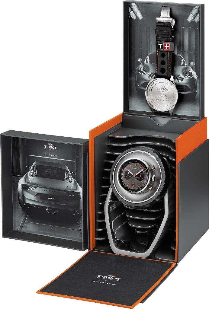 Tissot Alpine On Board Automatic, le nouvel allié performance
