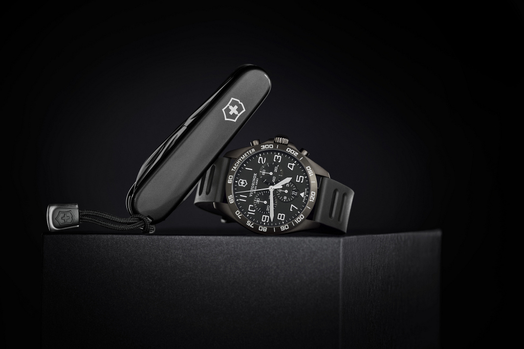 Victorinox FieldForce Sport Chrono Black Ice