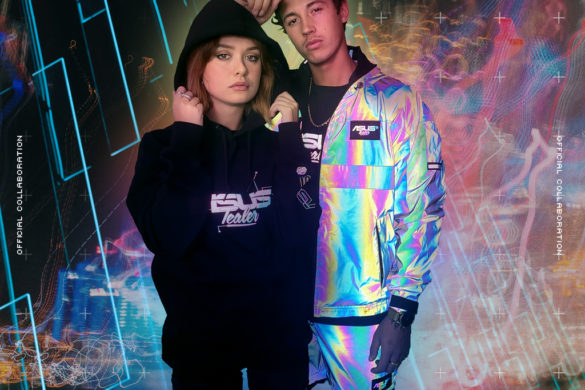 ASUS X TEALER, la collab' de streetwear high-tech