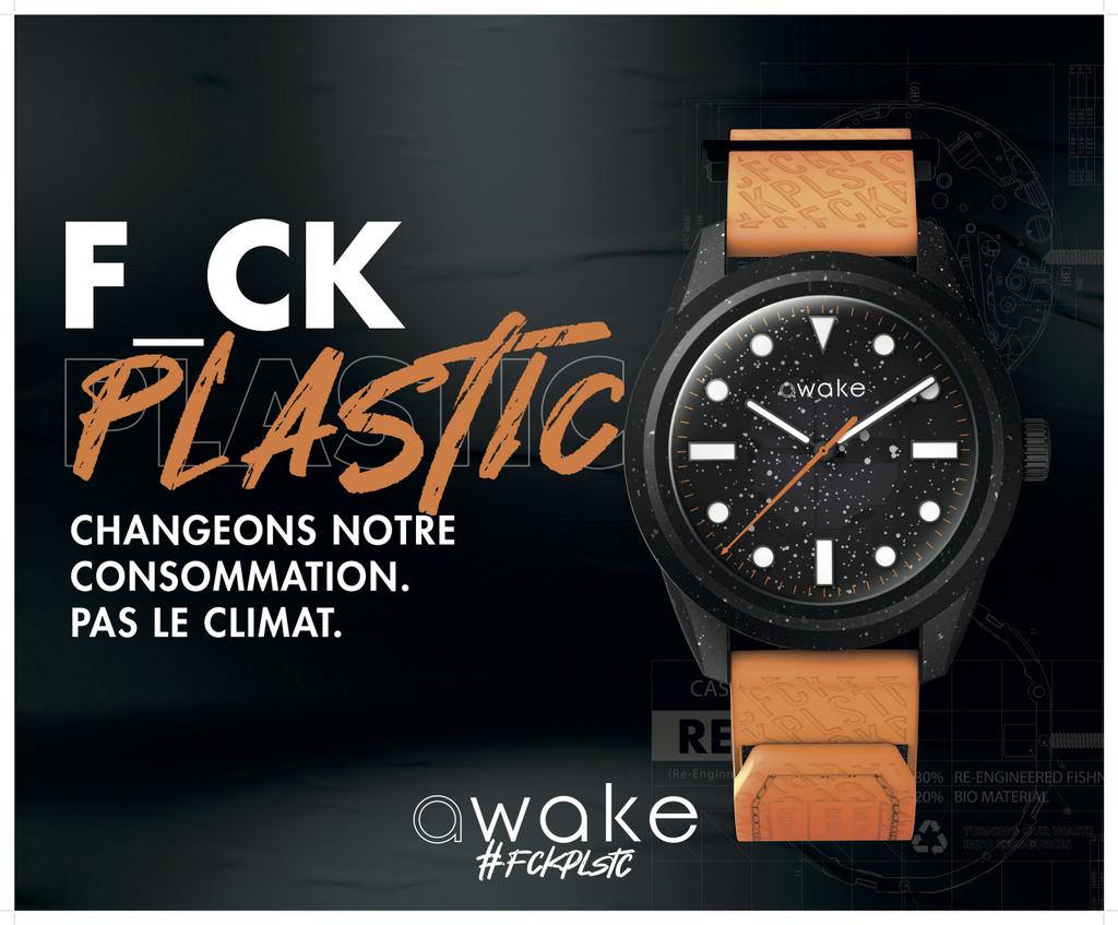AWAKE dévoile .01, sa montre éco-responsable biosourcée