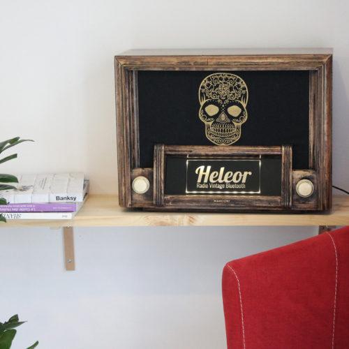 Heleor donne une seconde vie à nos radios vintages