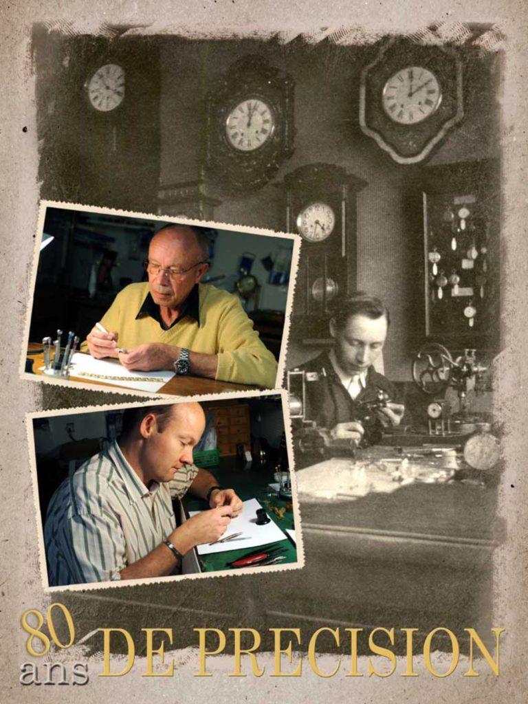 Trois générations se sont succédées à la bijouterie Clouzeau de Pithiviers