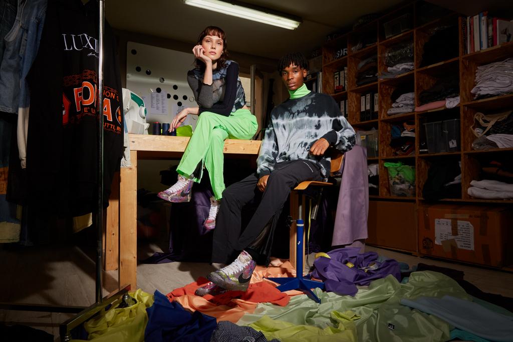 Courir x Andrea Crews, la collaboration sneakers