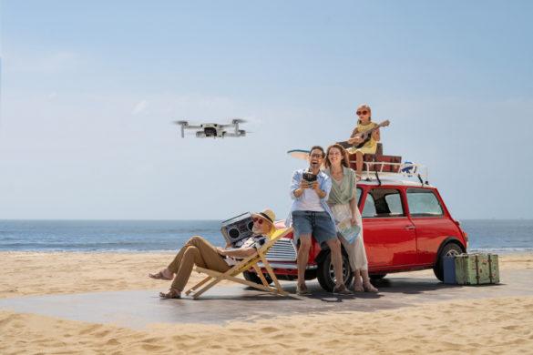 Le DJI Mini 2, le drone ultraléger et compact à emporter partout !