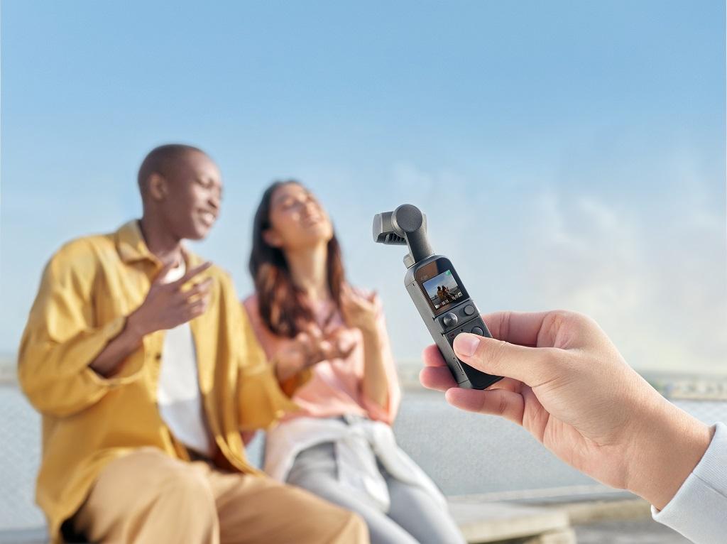 La DJI Pocket 2, la plus compacte des caméras stabilisées 4K de DJI